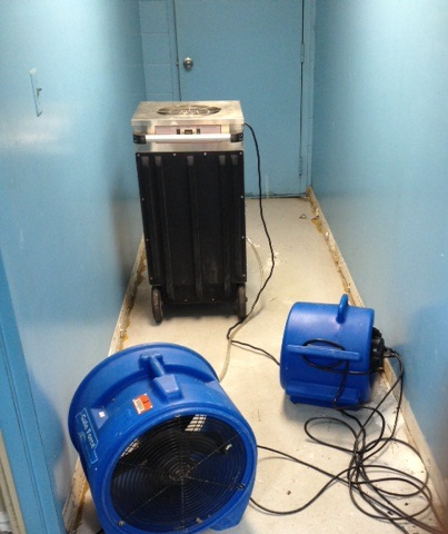 air scrubber and fans
